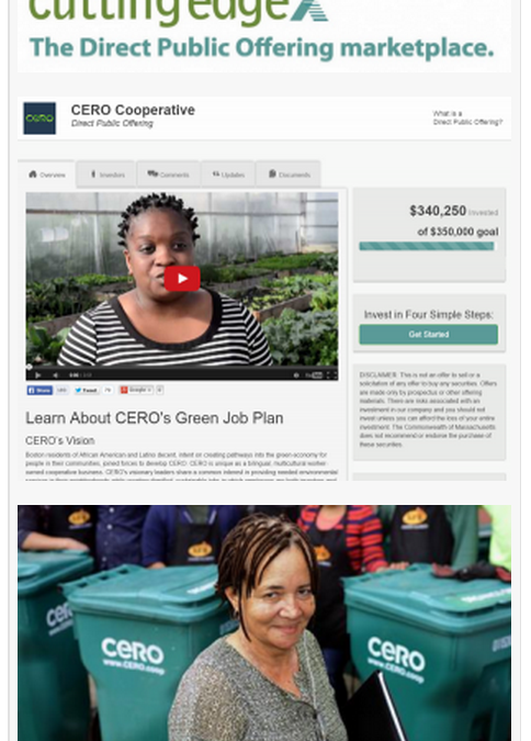 $340,000 Raised by Composting and Recycling Worker Cooperative in Massachusetts