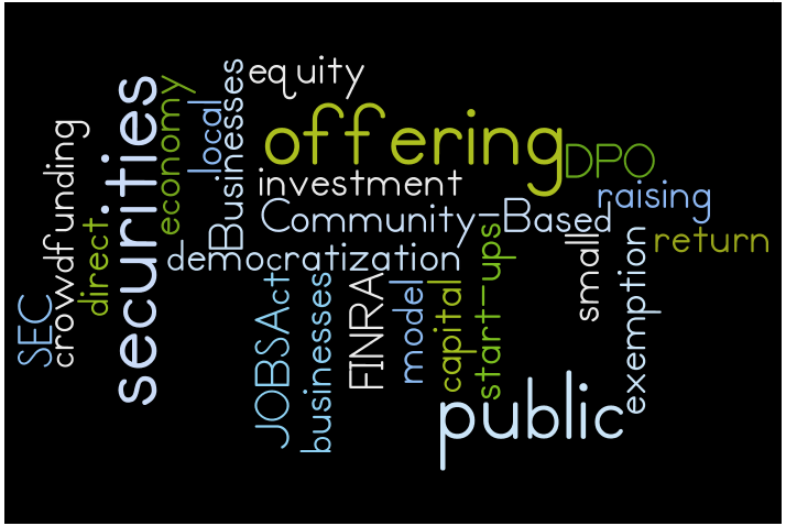 Direct Public Offering wordle