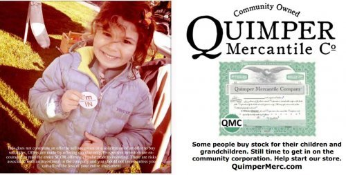 CEC client Quimper Mercantile raises over $500,000 from its community!